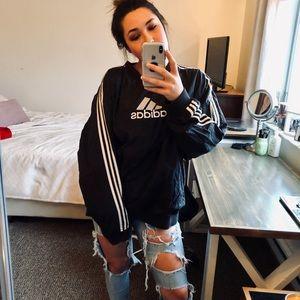 adidas Jackets & Coats - VINTAGE Adidas pullover windbreaker